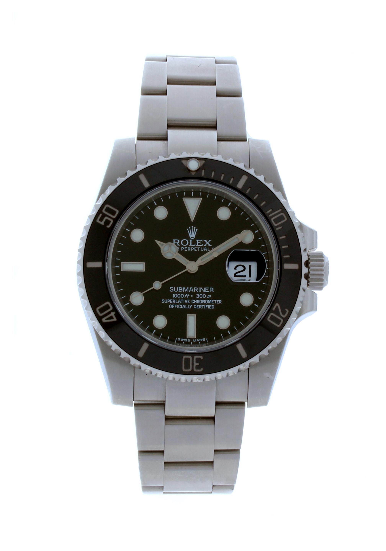 116610LN Rolex Submariner Date KäYTETTY Hinta € 4.930